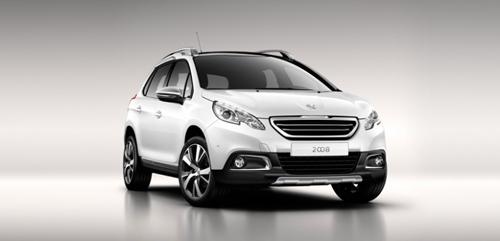 Peugeot 2008 eerste model met HYbrid Air