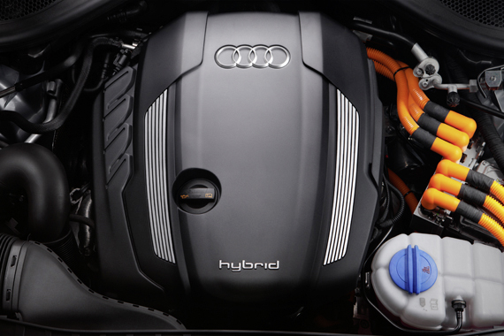 Audi A6 Full hybrid.