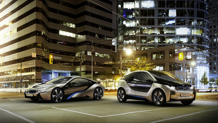 BMW - 2 duurzame concept modellen