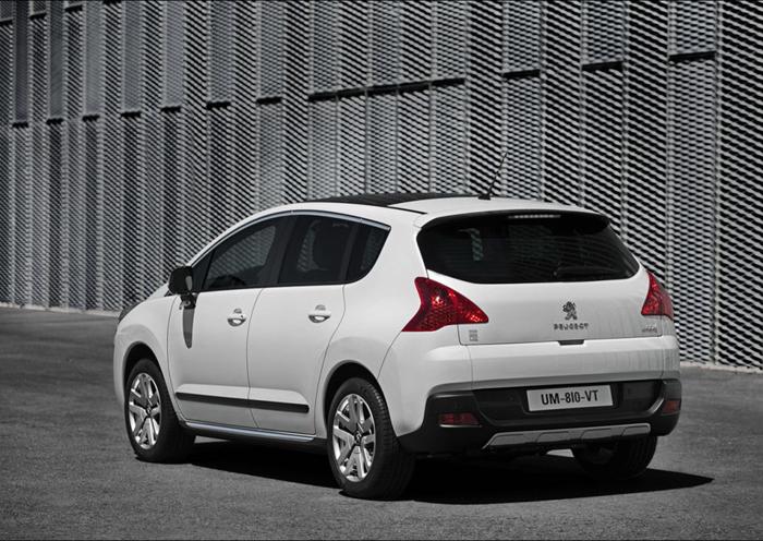 Gelimiteerde uitvoering Peugeot 3008 HYbrid4