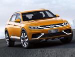 CrossBlue Coupé, een Hybride concept van Volkswagen