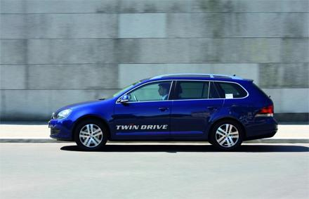 VW Golf Variant twinDrive rijdt 1 op 47,6 in test