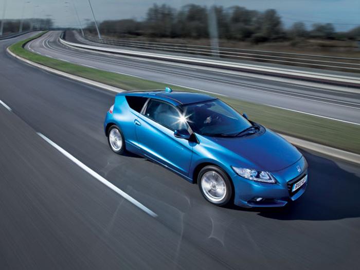 Honda CR-Z, een hybride sportauto
