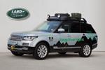 Range Rover Hybrid begin 2014 op de weg