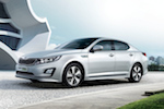 Vernieuwde KIA Optima Hybrid op Nederlandse markt