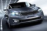 Vernieuwde Kia Optima Hybride in zomer 2014