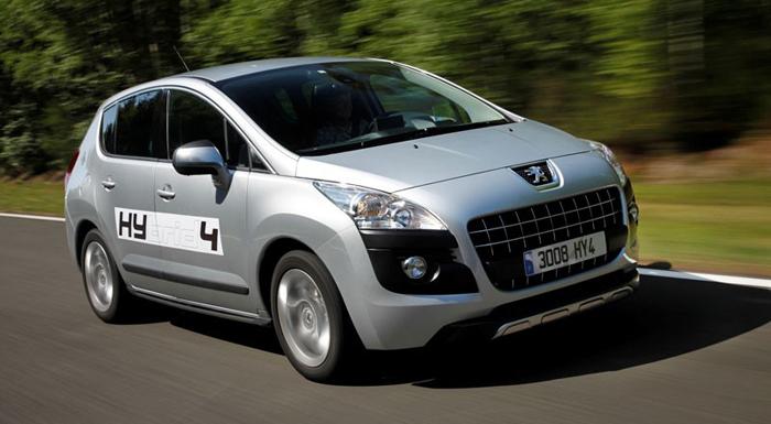 Peugeot 3008 Hybrid4, de eerste Cross Over met diesel hybride