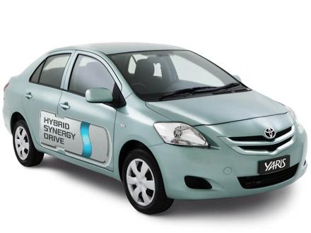 Nieuwe Hybride van Toyota (Yaris) op komst.