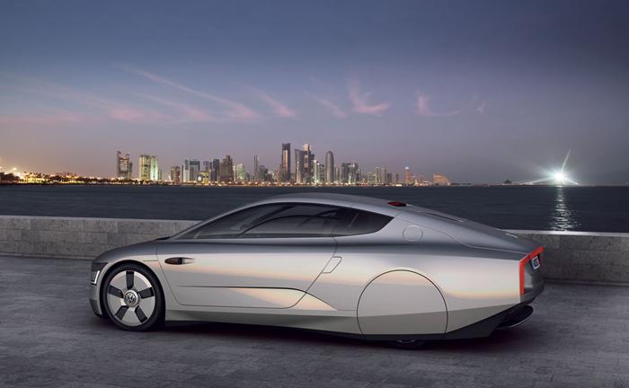 Volkswagen XL1 concept: verbruik 1 op 111 km!